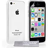 Yousave iPhone 5C Case Clear Silicone Gel Cover