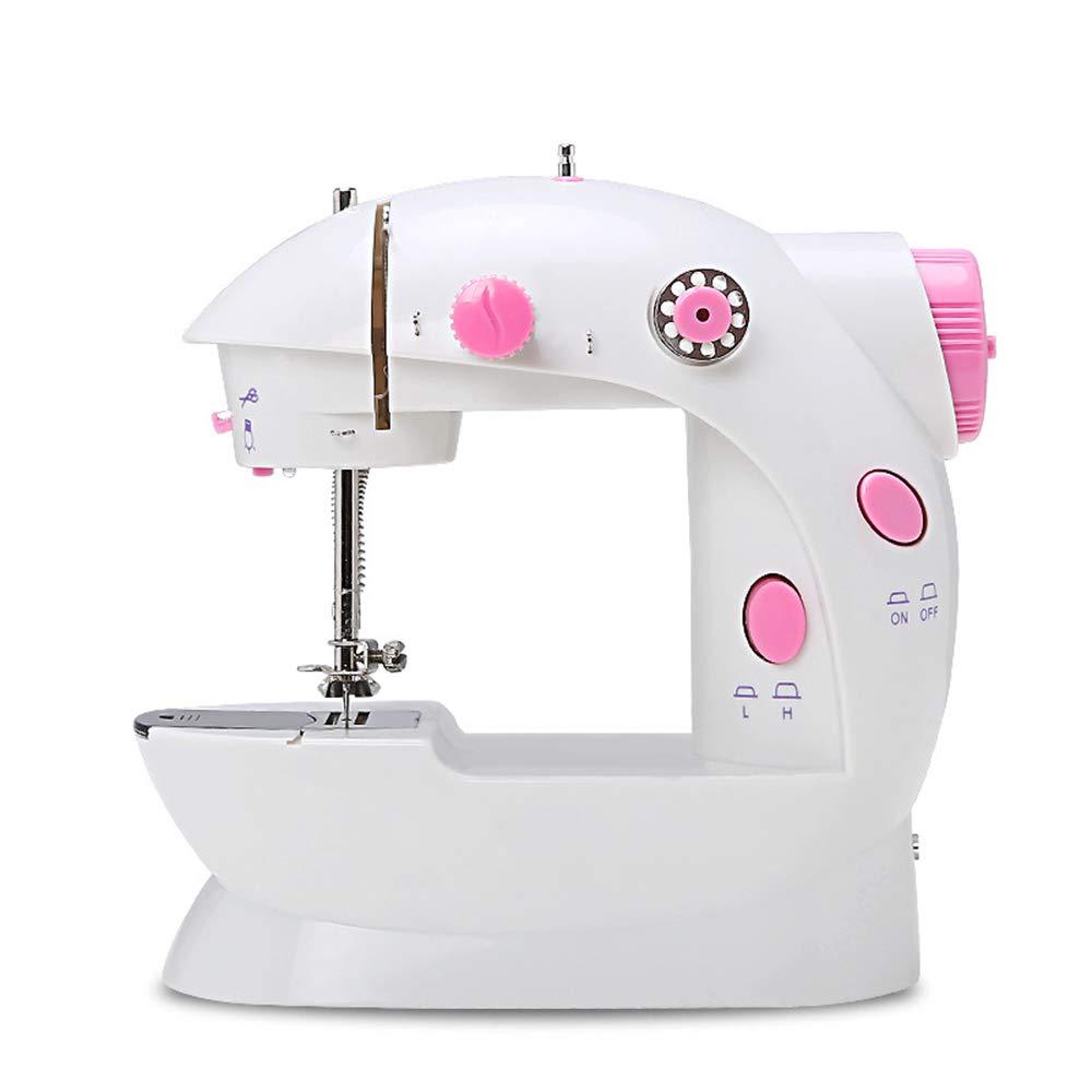 Máquina de coser portátil con pedal de 2 velocidades Máquina de ...