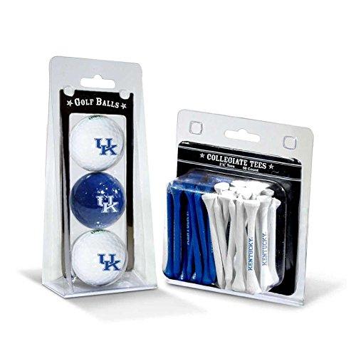 Team Golf NCAA Kentucky Wildcats Logo Imprinted Golf Balls (3 Count) & 2-3/4