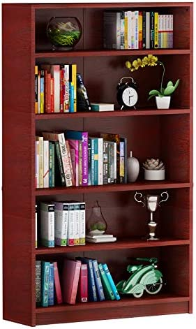 YITAHOME 5 Tier Bookcase - the best modern bookcase for the money