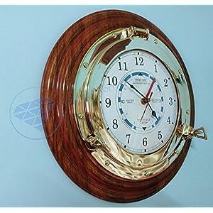 51OH2cyempL._SS300_ Nautical Themed Clocks