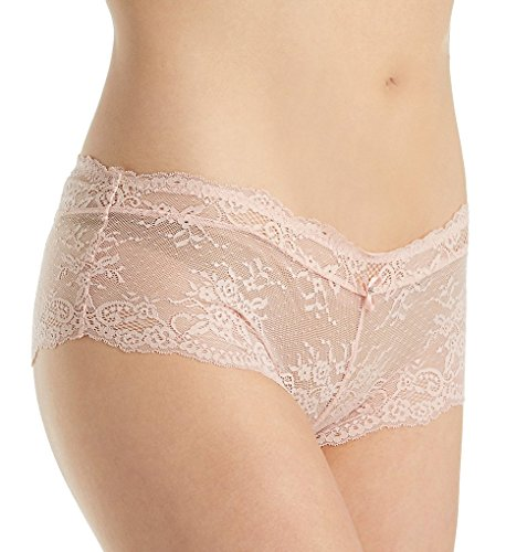 Parfait P5355 Women's Sandrine Cameo Rose Pink Lace Hipster Underwear