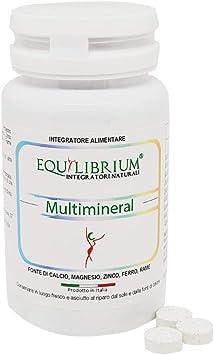 EQUILIBRIUM - INTEGRATORI NATURALI Multimineral 100 tabletas de 400 mg: Amazon.es: Salud y cuidado personal