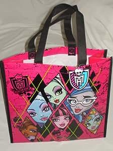 2013 New Monster High Reusable Tote - Shopping Bag - Gift Bag - Party Favor Holder