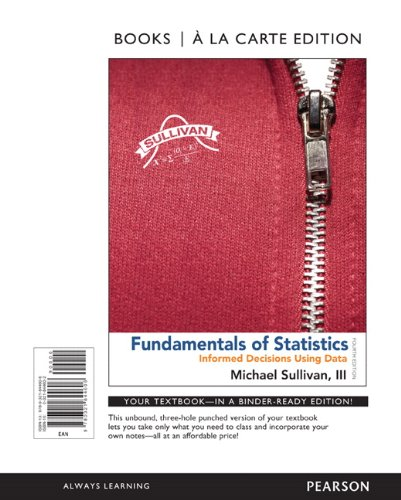 Fundamentals Of Stat.(Looseleaf) W/Cd