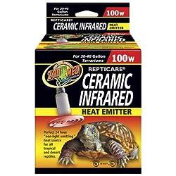 Zoo Med Repticare Infared Ceramic Heat Emitter (100 watt)
