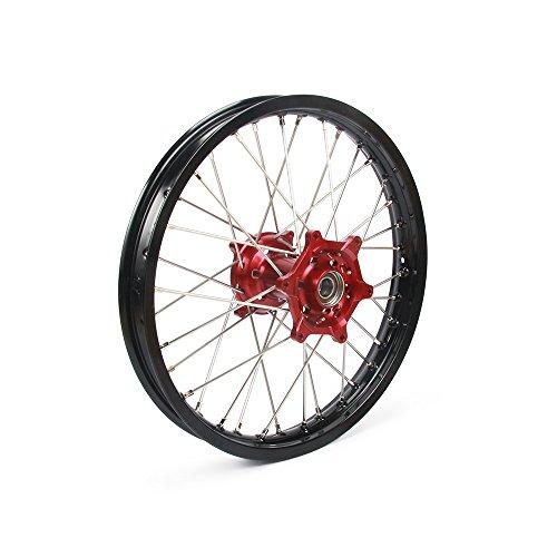 2.15x19'' Rear Wheels Rims & Hubs & Spokes - Honda CR125 CR250 00-07 CRF250R 04-17 CRF450R 02-17 CRF450X 02-16 CRF250X 00-16 by Unknown