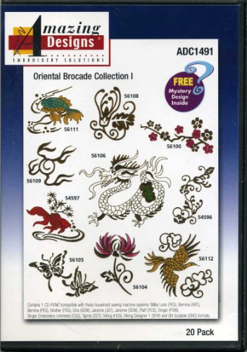 Oriental Brocade Collection I 20 Designs Amazing Designs Embroidery Solutions
