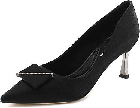 high heels Shallow mouth Pointed