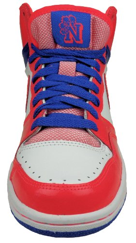 Nike Damen Sneaker Court Force High Weiß/Pink/Blau, Gr. 39