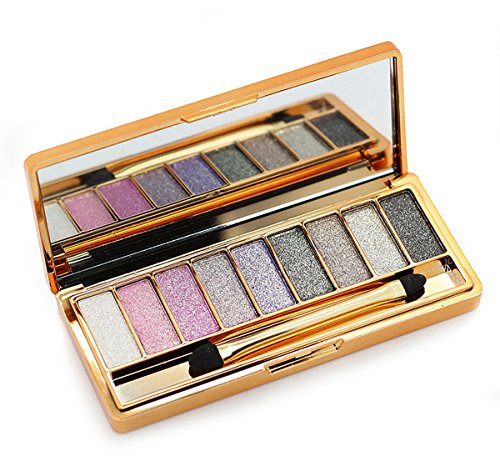 Bright 9 Color Eyeshadow Makeup Eyeshadow Palette no.1