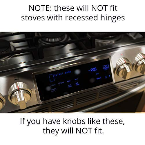 Extra Large Child Safety Stove Knob Covers (Set of 6)
