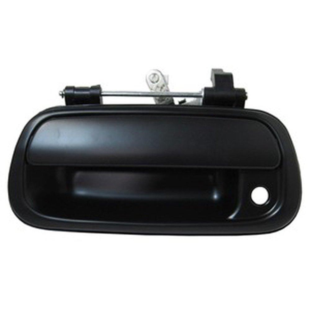 Eynpire 8040 Toyota Tundra Truck 00-06 Rear Tailgate Smooth Black Door Handle w//Lock Provision