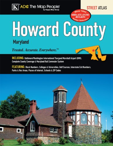 Howard County, MD Street Atlas