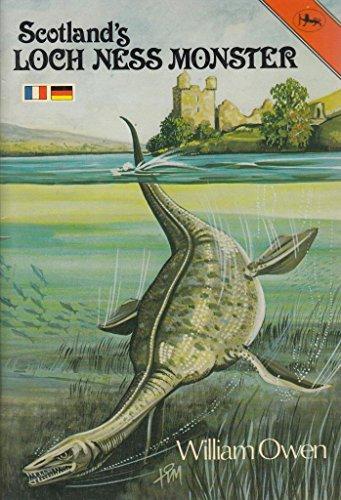 Scotland's Loch Ness Monster (Cotman-color)