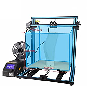Creality CR-10S S5 3D Printer DIY Kit With 2kg CCTREE PLA Large Printing Size 500x500x500mm Filament Monitor Dual Z Axis T Screw Rods by Creality
