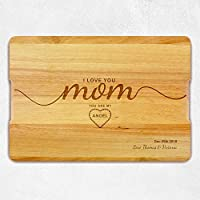 Personalized Mothers Day Gift, Christmas Gift, Mom gift, Personalized Cutting Board, Wooden Cutting Board, Personalized gift, Custom Chopping Board.