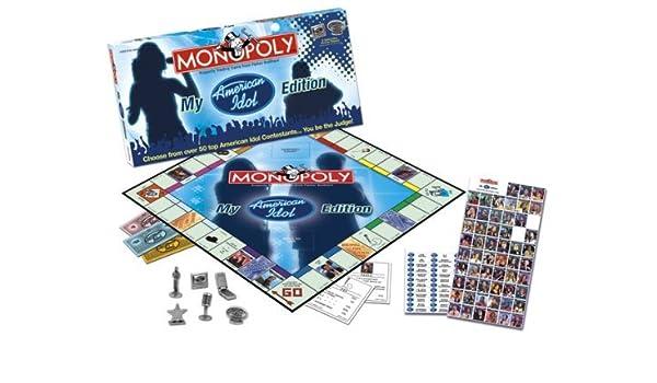 Usaopoly My American Idol CollectorS Edition Monopoly by USAopoly: Amazon.es: Juguetes y juegos