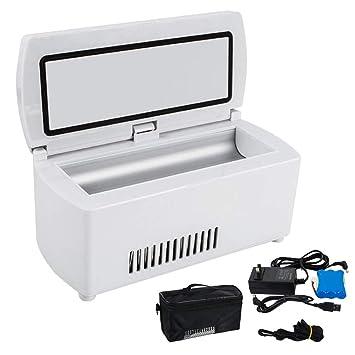 XHDZ La insulina Refrigerador Caja LCD portátil de Pantalla ...