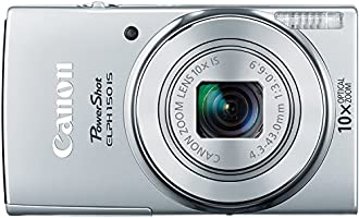 Canon PowerShot ELPH 150 IS Digital Camera (Silver) - Cámara digital, 20 MP, Plata