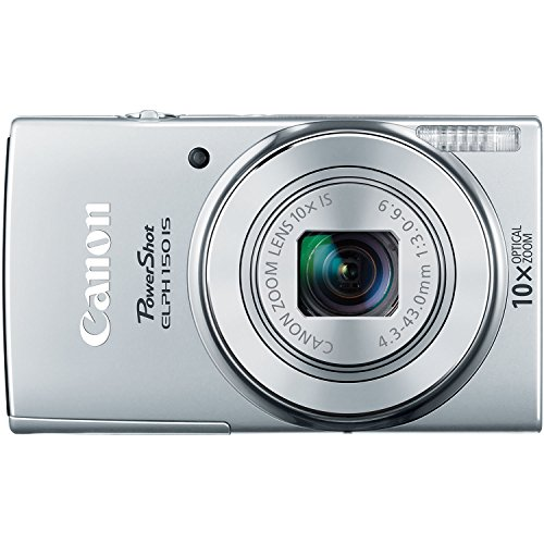 Canon PowerShot ELPH 150 IS Digital Camera (Silver) Review