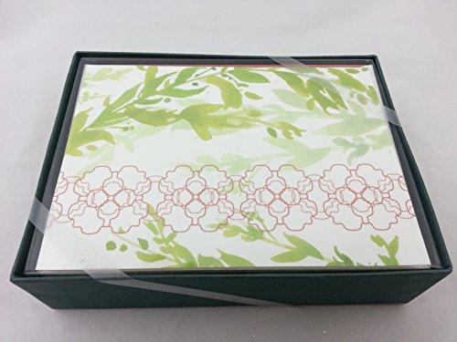 William Arthur 10 Blank Note Cards with Envelopes (Envelopes Arthur William)