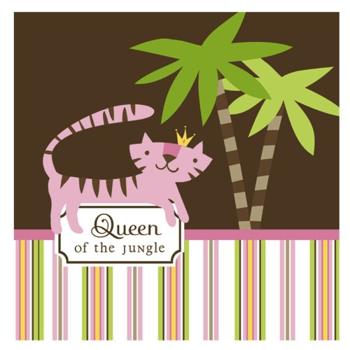 Queen of the Jungle Lunch Napkins (16