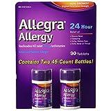 Allegra 24 Hour Allergy Relief 180mg - 90ct