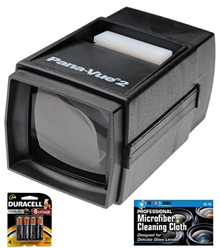 Pana Vue Illuminated Batteries MicroFiber Cleaning