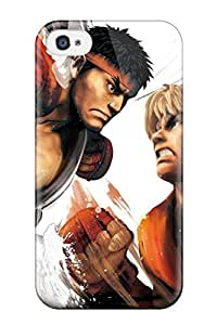 Ideal Benailey Case Cover For Iphone 4/4s(street Fighter), Protective Stylish Case