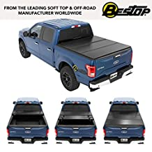 Bestop 14235-01 Black EZ Fold Hard Tonneau Cover (for ford 2015-2016 F-150, 5.5' bed)
