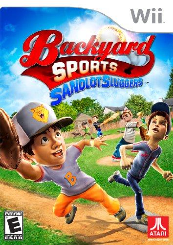 Sandlot Sluggers - Nintendo Wii (Backyard Baseball Wii Game)