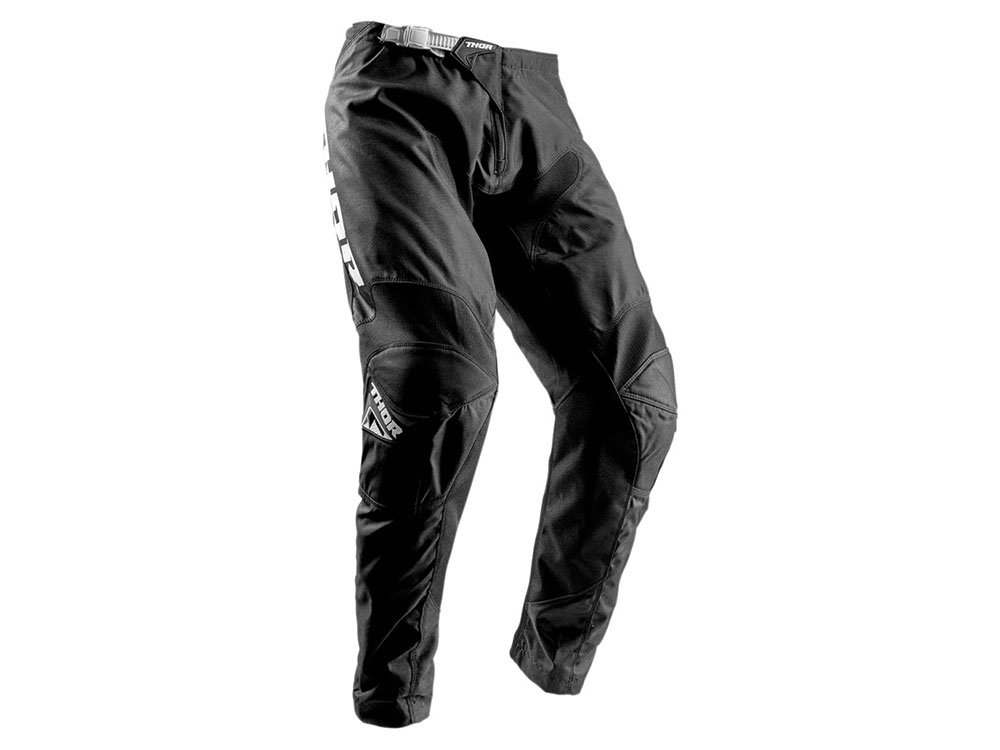 Thor Pantalon Cross Enfant Sector Zones Noir Taille 28 US