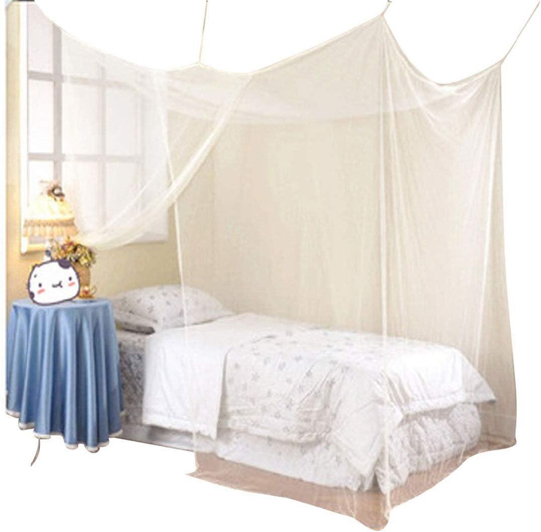 LianMengMVP Moustiquaire de lit carr/ée 1.5m Grand Format La Meilleure moustiquaire de lit pour Se prot/éger efficacement des moustiques