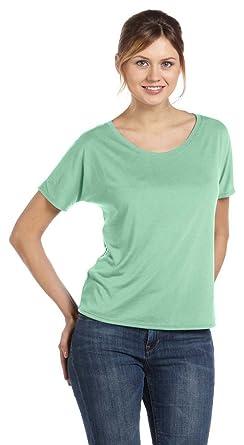 a0ff77806 Bella + Canvas Womens Slouchy T-Shirt (8816) MINT: Amazon.co.uk: Clothing