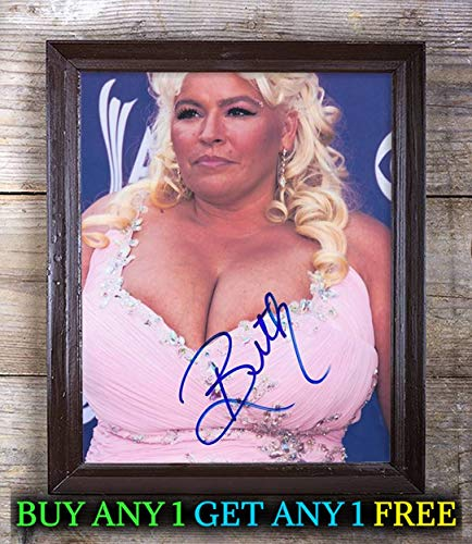Beth Chapman Dog The Bounty Hunter Autographed Signed Reprint 8x10 Photo #15 Special Unique Gifts Ideas for Him Her Best Friends Birthday Christmas Xmas Valentines Anniversary Fathers Mothers Day ()