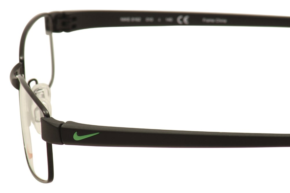 Amazon.com: Nike Eyeglasses 8162 010 Shiny Black/Black Demo 50 17: Sports &  Outdoors
