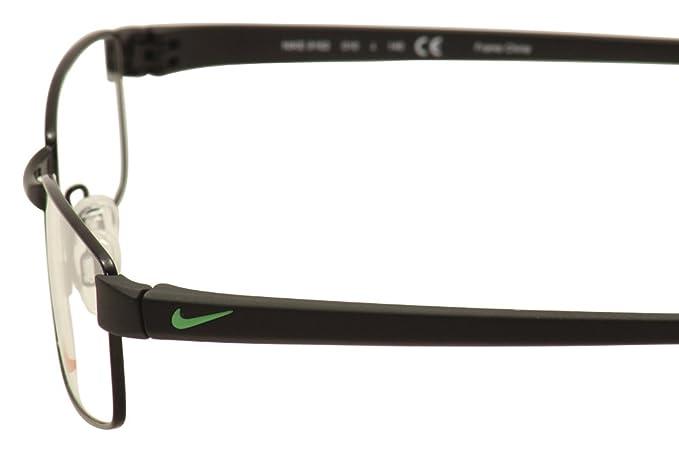 dec3a9a4a6 Amazon.com  Nike Eyeglasses 8162 010 Shiny Black Black Demo 53 17  Sports    Outdoors