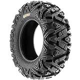 SunF 28x11-12 28x11x12 ATV UTV Tires 6 PR Tubeless