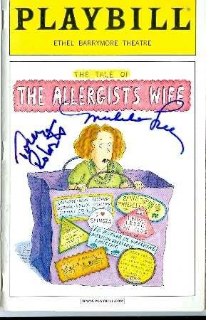 Amazoncom Michele Lee Tony Roberts Autographed Playbill Program - Playbill program