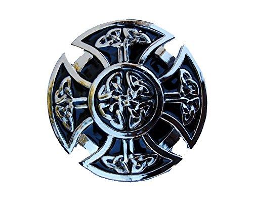 Enlarged Goth Cross Shield Belt Buckle Cross Shield Belt Buckle