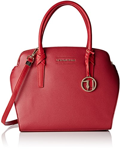 trussardi-woman-red-shoulder-bag