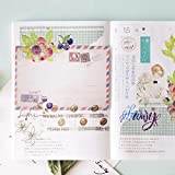 Lannmart Japanese Decorative Grid Journal Paper