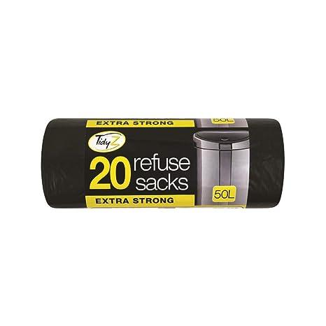 Schone Products (UK) 20 Bolsas de Basura Negras con ...