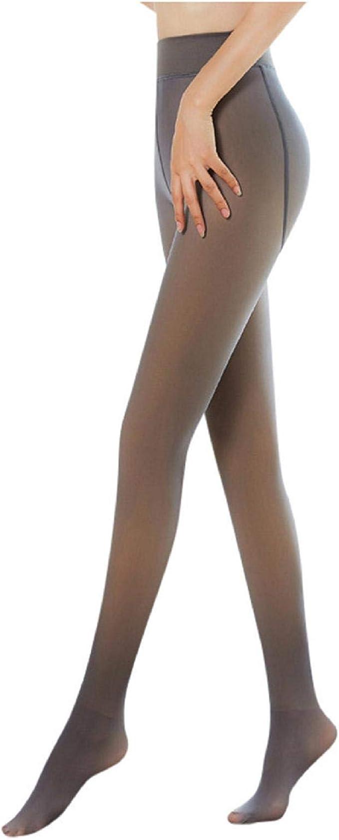 Flawless Legs Fake Translucent Winter Fleece Villi Thickened Pantyhose LOT LIU9