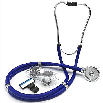 Amazon.com: Estetoscopio médico y doméstico de doble cabeza ...