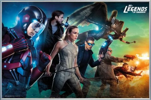 Legends Of Tomorrow Poster and Frame Plastic - Team