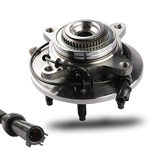 MOSTPLUS Wheel Bearing Hub Front Wheel Hub and Bearing Assembly for F-150 Heritage Expedition w/ABS 4WD 4x4 6 Lug 515079