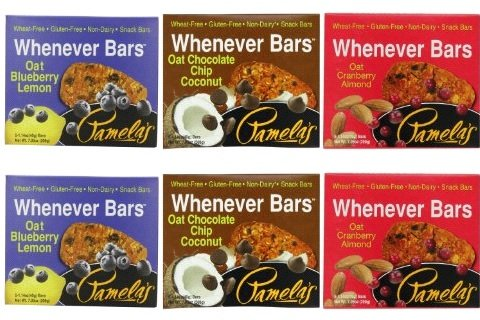 Pamela's Products Whenever Bars Variety 6 Pack - by Pamela's Products