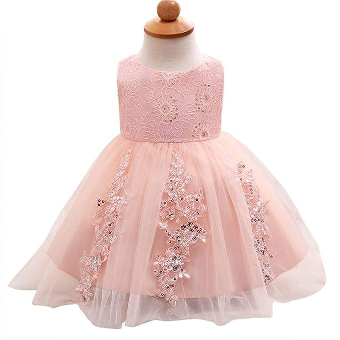 Amazon.com: Vestido de malla de vestido de niña Tutu Vestido ...